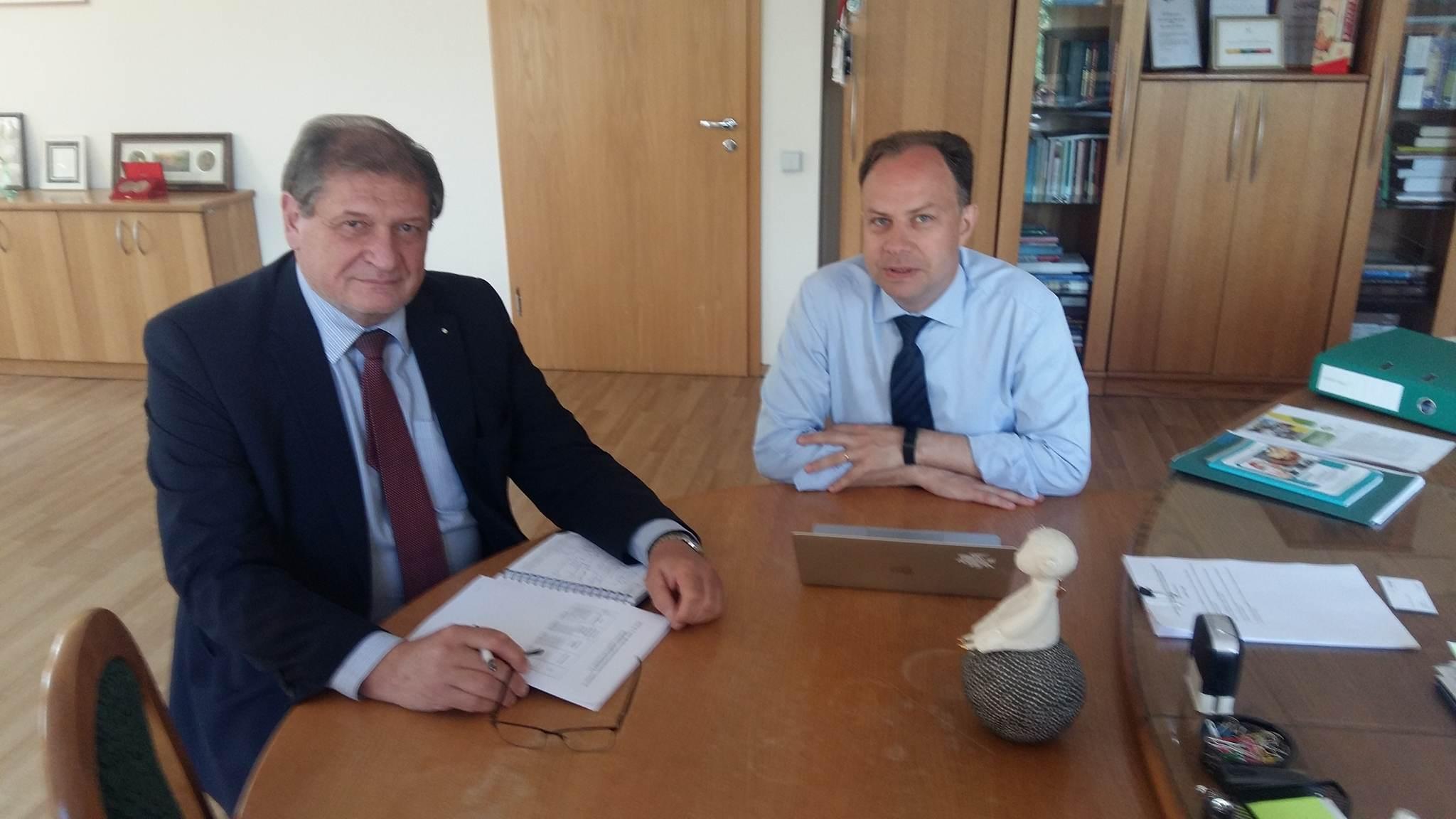 Susitikimas su VLK direktoriumi