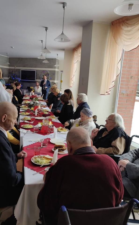 Advento vakaronė su senjorais