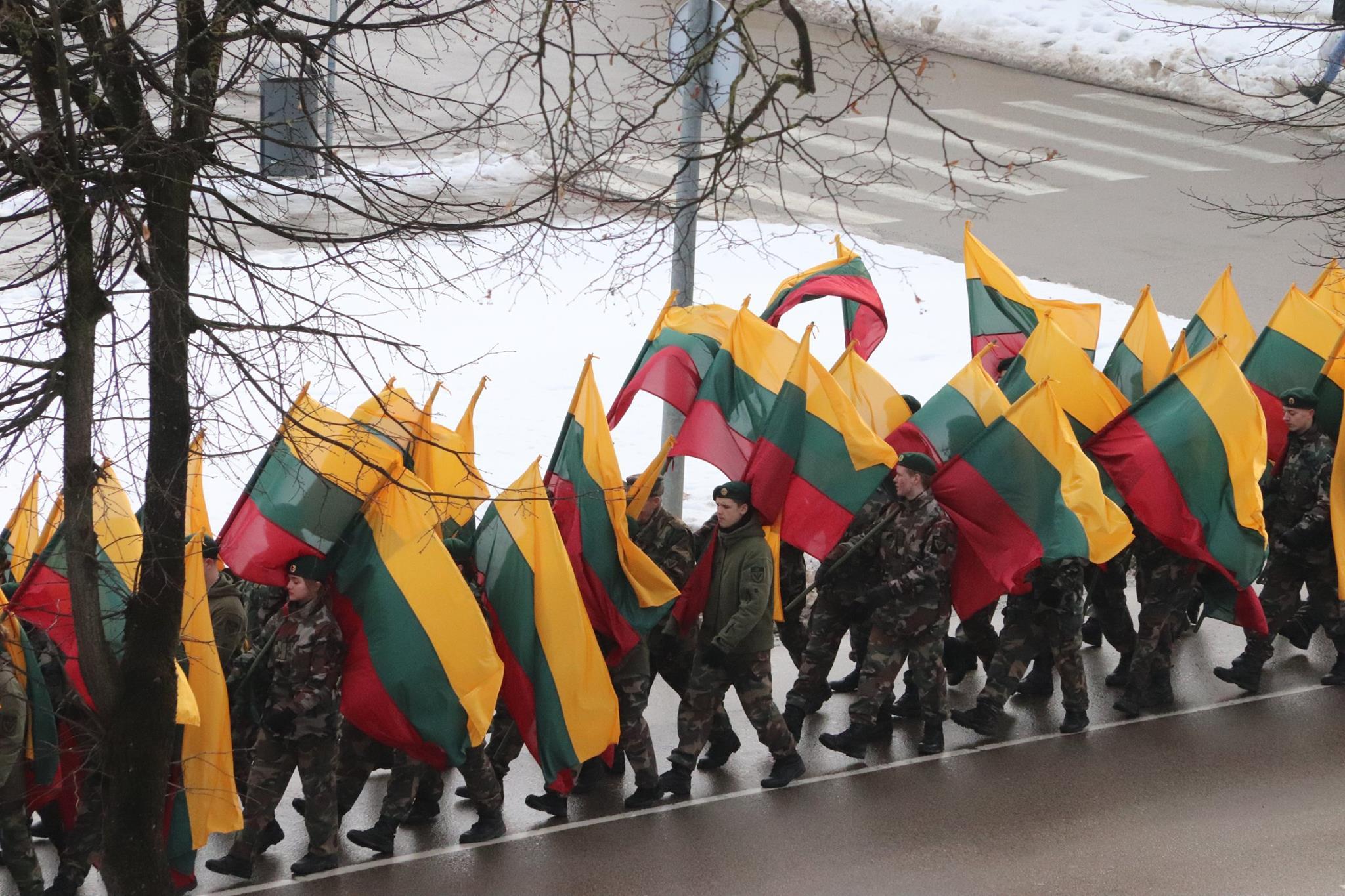 Įstojimas į Lietuvos šaulių sąjungą