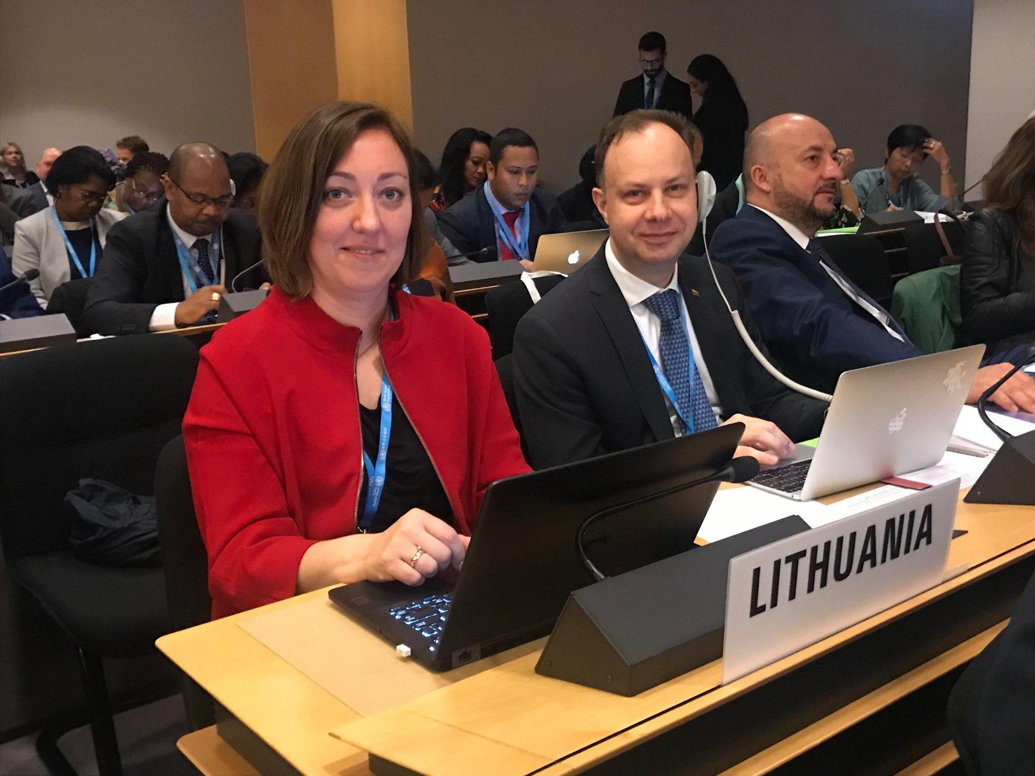 Ministras A. Veryga dalyvauja Pasaulio sveikatos asamblėjoje