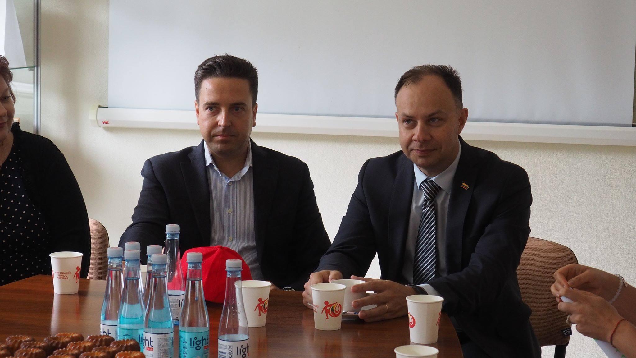 Darbą pradeda naujas Nacionalinio kraujo centro vadovas D. Gutauskas