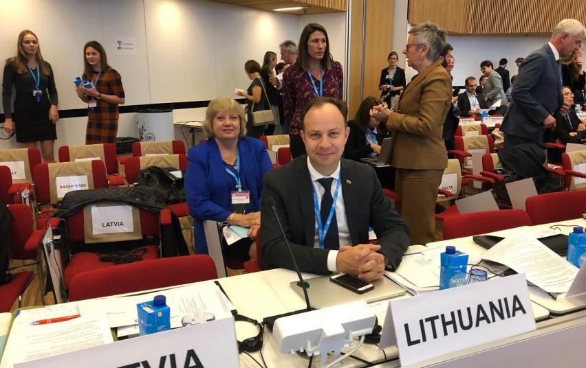Dalyvavimas 69-ojoje PSO sesijoje Danijoje