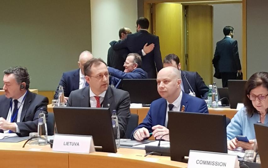 Ministras A. Veryga su ES šalių ministrais tarėsi, kaip suvaldyti koronavirusą