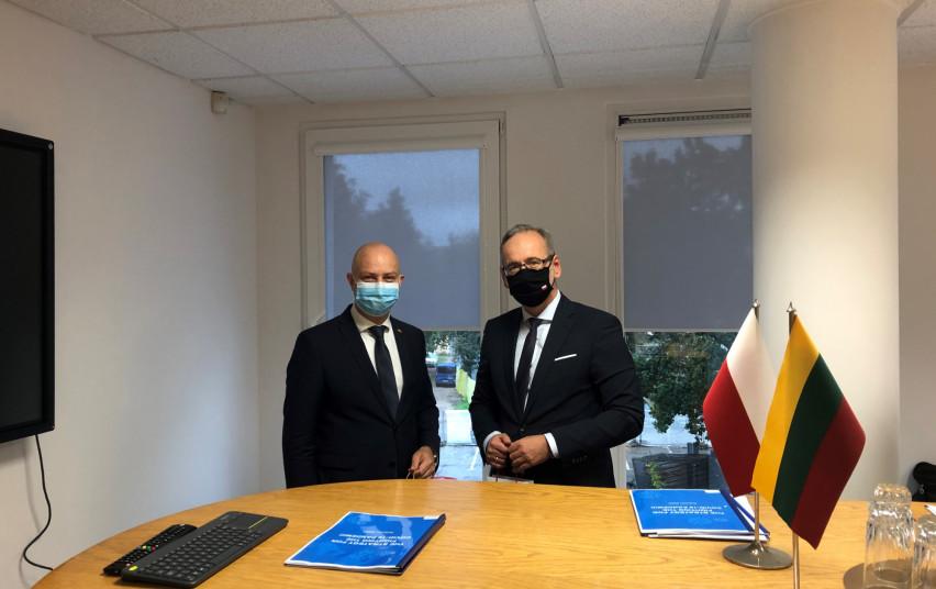 Lietuvos ir Lenkijos sveikatos ministrai bendradarbiaus suvaldant koronaviruso plitimą