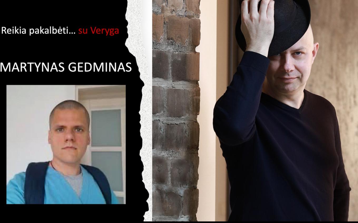 """Laidoje """"Pažink socialinių tinklų draugą"""" pokalbis Martynu Gedminu apie Šiaulių ligoninės istoriją ir kitas sveikatos sistemos problemas"""
